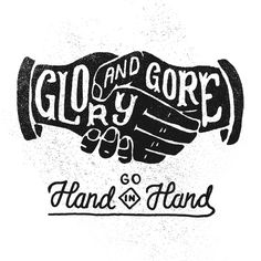 Glory and Gore - LORDE on Behance by Joshua Noom #typography #drawn #hand #illustration