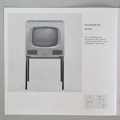 Braun Fernsehgerate pamphlet Wolfgang Scheitel 1959 via www.dasprogramm.org