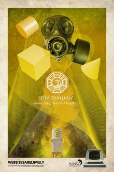 The Tempest | Flickr: Intercambio de fotos #movie #design #graphic #initiative #dharma #vintage #poster #collage #tv #lost