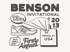 Benson Invitational T Shirt #wqdwq