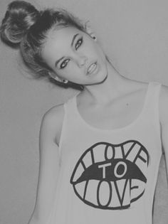 i'm not wordy #black #white #love #girl