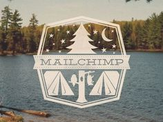 Lost Type Co-op | Blog #logo #chimp #camping #mail