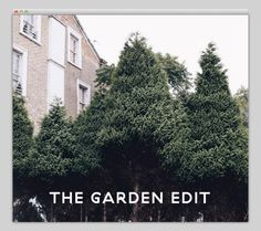 The Garden Edit #website #layout #design #web