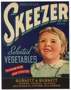 All sizes | Skeezer | Flickr - Photo Sharing! #type #vintage #typography