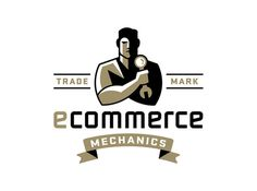 Ecommerce Mechanics Ty Wilkins #logo #illustration #identity #branding