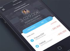Banking app timeline