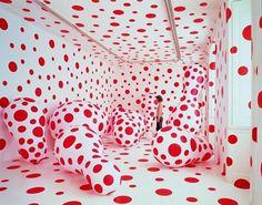 WALKING IN MY MIND - YAYOI KUSAMA | AGENT2 Magazine #interior #yayoi #kusama #dots #art #polka
