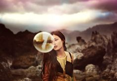 syntheticidea #bubble #photography #girl