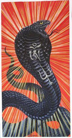 #cobra #illustration #poster