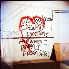 Dream Machine © Adele Jancovici 2015 Color print on paper #photography #art #graffiti #losangeles #streetart #love