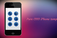 Css3 iphone 4 template Free Psd. See more inspiration related to Template, Mobile, Website, Iphone, Psd, Website template, Theme, Horizontal and Css3 on Freepik.