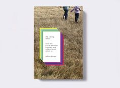 FFFFOUND! #casey #design #book #cover #martin #typography