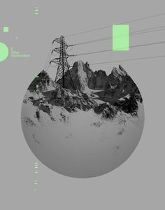 FFFFOUND! | Dan Mountford | Designcollector™ #mountains #geometric