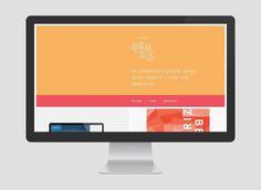 Studio Beuro #red #white #site #portfolio #design #yellow #orange #beuro #crisp #clean #digital #studio