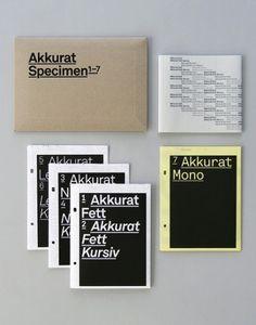 Akkurat Specimen 1-7 | AisleOne #akkurat #specimen #design #graphic #lineto