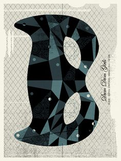 DUM DUM GIRLS | Limited Edition Gig Posters Archives | Methane Studios #gig #poster
