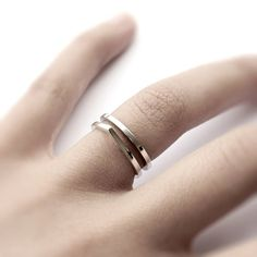 Stacked Rings #jewellery
