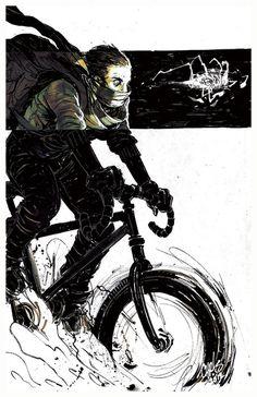 KID HAVOC Kickstarter by ChrisVisions on deviantART #kid #bike #havoc