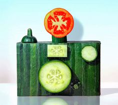 Dc2 #camera #flash #vegetables #photographic #tomato #interesting idea