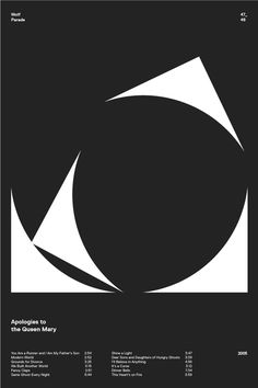 swissritual.ca #swissritual #graphic #design #minimal #music #grid #poster #swiss #illustration #wolfparade