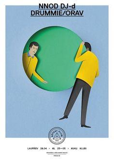 Eiko Ojala » Rotary Klubi #paper #cut illustration