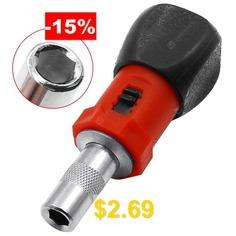 Mini #180-degree #Rotatable #Small #Square #Handle #Ratchet #Screwdriver #- #MULTI-A