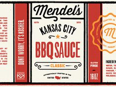 #BBQ #Label #Design #Packaging