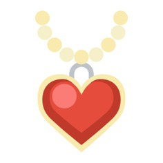 See more icon inspiration related to love, love and romance, valentines day, necklace, lovely, romanticism, romantic, heart shape and fashion on Flaticon.