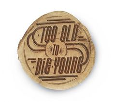 Ben Johnston, One Horse Town and Jason DeVilliers Group Typography Show #wood #typography