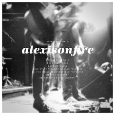 Alexisonfire — iTunes Originals #alexisonfi #design #graphic #cover #lp #typography