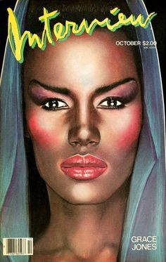 Grace Jones #andy #jones #interview #grace #warhol