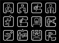 Pictogram Robert Vulkers #pictogram #icon #sign #picto #symbol