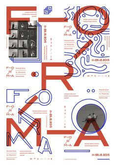 Forma Festival Poster Poland, 2015