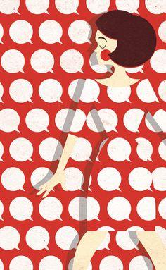 Zara #illustration #pattern
