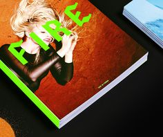 duo d uo | creative studio | She is Frank – Fire & Ice #emboss #indentity #design #publication #landscape #photography #fashion #fluro #green