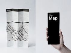 The International Office #print #design #map