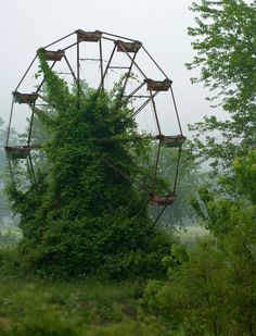 nature-reclaiming-abandoned-places-18 #abandoned #photography