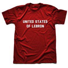 United States of Lebron #lebron #hirt