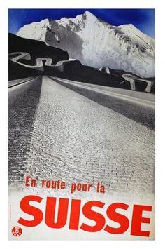 Twitter / @berger_pablo: herbert matter's tourism # ... #swiss #design #graphic #matter #poster #type #herbert #typography