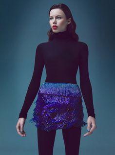 Agnieszka Pulapa by Lukasz Pukowiec for Mariusz Przybylski Campaign #fashion #model #photography #girl
