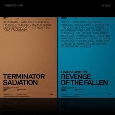 ANTREPO BLOG / A2591 #movie #design #graphic #poster #typography