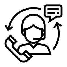See more icon inspiration related to support, call, user, man, business and finance, professions and jobs, circle arrows, customer service, telemarketer, headphones, communications, people and technology on Flaticon.