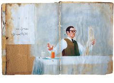 Oliver Jeffers Projects #draw #sketching #book #paint #illustration #sketch