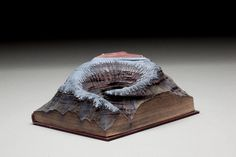 Desert of Unknowing: Carved Book Art by Guy Laramée