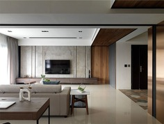 Shining Copper at Stylish Urban Project by Ris Interior Design - InteriorZine