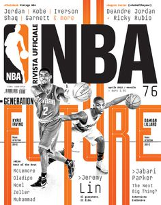 Rivista NBA | Covers 2012 13 by Francesco Poroli