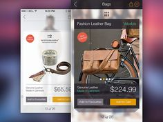 Online Store iPhone App Design