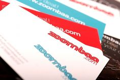 Behance Network :: Project Editor #branding #business #card #print #design #graphic #india #bombay #zoombaa #logo