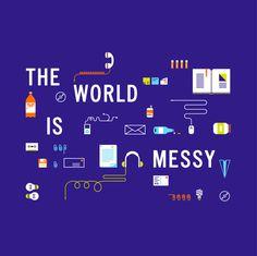 Recycling illustration via Patrick Iadanza #illustration #world #recycling