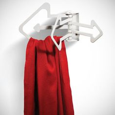 Wall-Mounted Multi Hook Hinge System #gadget